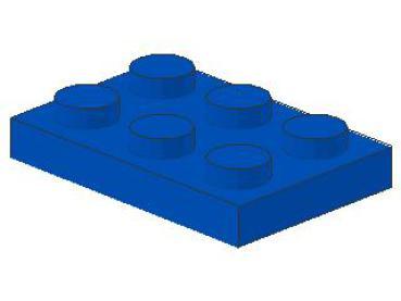 10x LEGO® 3021 2x3 Platte neu-hellgrau NEU light bluish gray plate