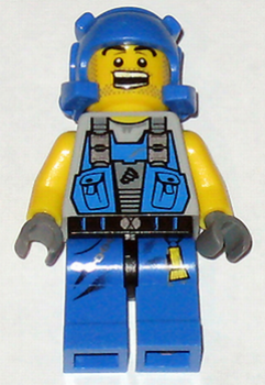 Lego Minifigur pm006 Power Miner