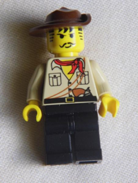 Lego Minifigur adv010 Johnny Thunder